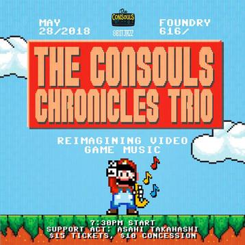 Live @ Foundry 616 |The Consouls Chronicles Trio ft. Asahi Takahashi