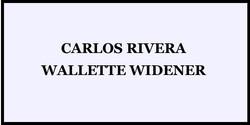 CARLOS & WIDENER