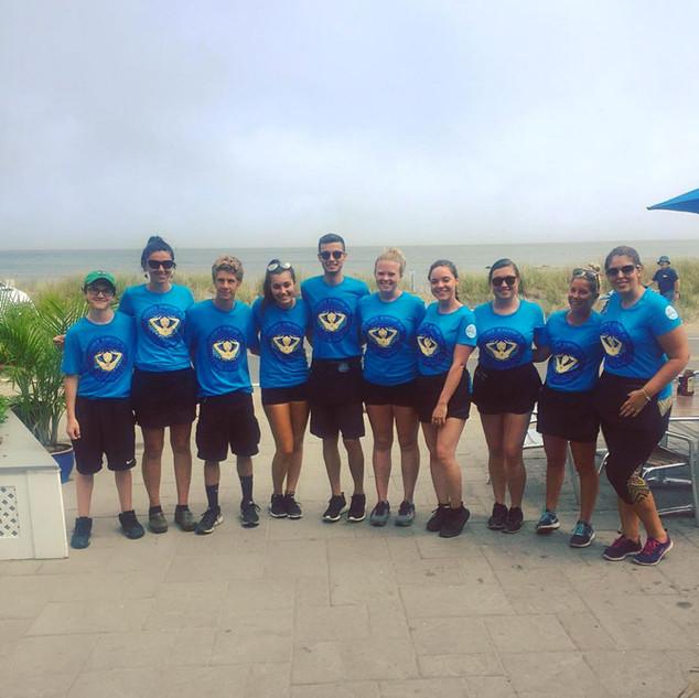 Some of the 2017 Beachead Crew