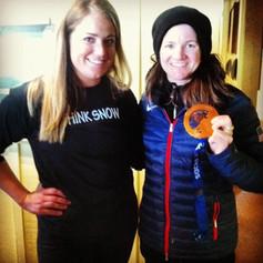 Kelly Clark & Lauren Geraghty