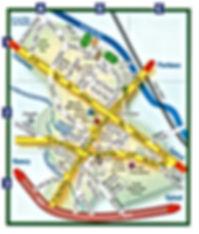 Situation géographique Vincey