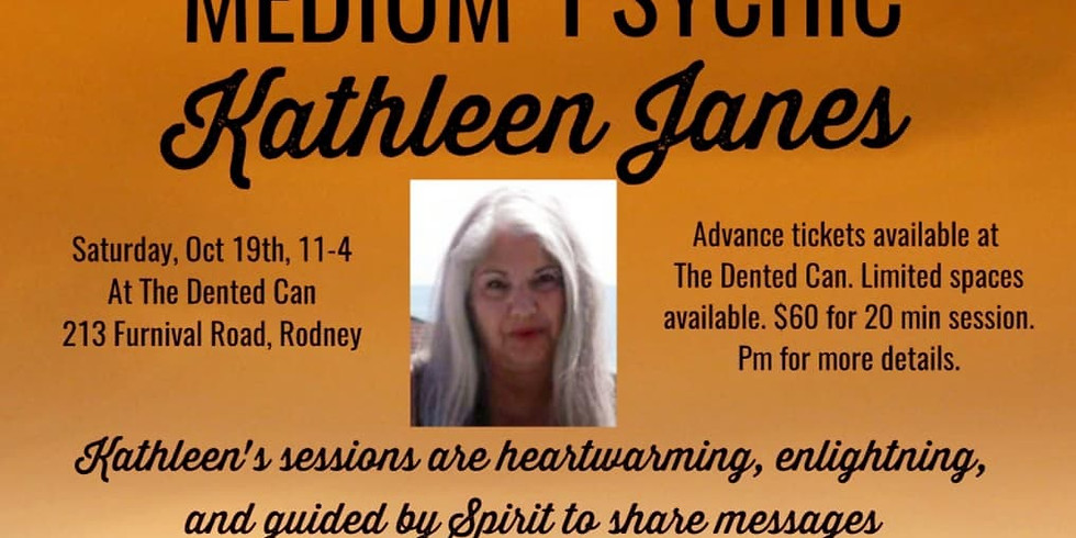 The Dented Can Presents An Afternoon with Medium Kathleen Janes
