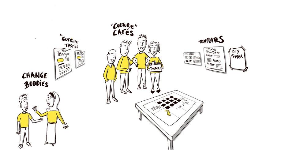 Workshop : Zet mensen in beweging met interactieve communicatievormen