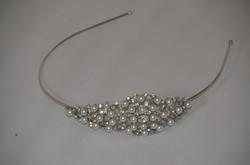 Pearl and Diamante Side Headband