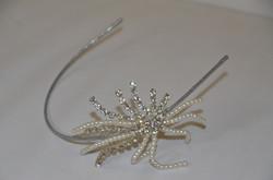 Diamante and Pearl Side Headband