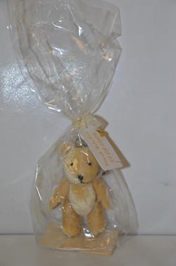Gold Bear Keyring Gift
