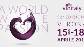 Vinitaly 2018  - dal 15 al 18 Aprile a VERONA