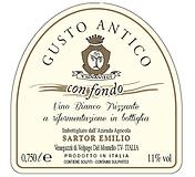 GUSTO ANTICO CON FONDO