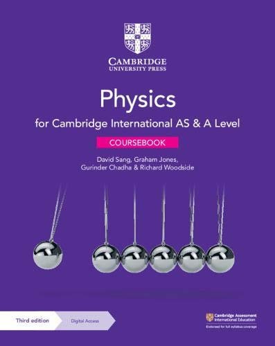 CUP - AS & A Level Physics with 2 years Digital Access 3rd Edition - David Sang