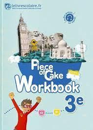 Piece of Cake 3e Workbook - Edition 2017