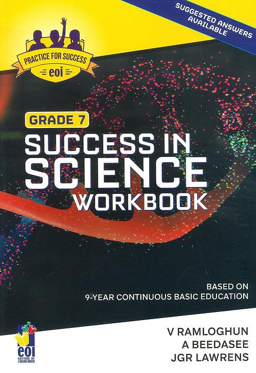 Success in Science Workbook Grade 7