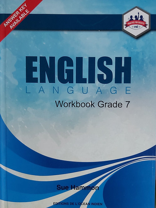 English Workbook Grade 7 - Sue Hammon