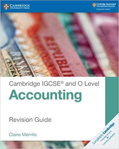CUP-IGCSE & O Level Accounting Revision Guide - Merrills