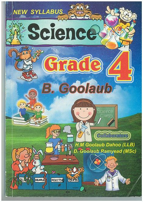 Science Grade 4 -B.Goolaub