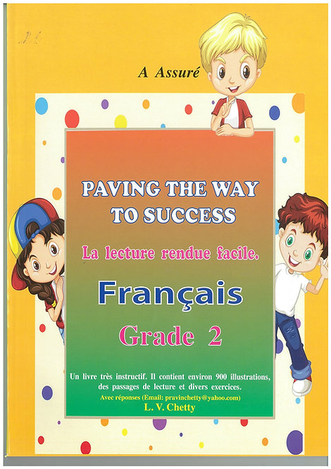 Paving the way to Success Francais Grade 2