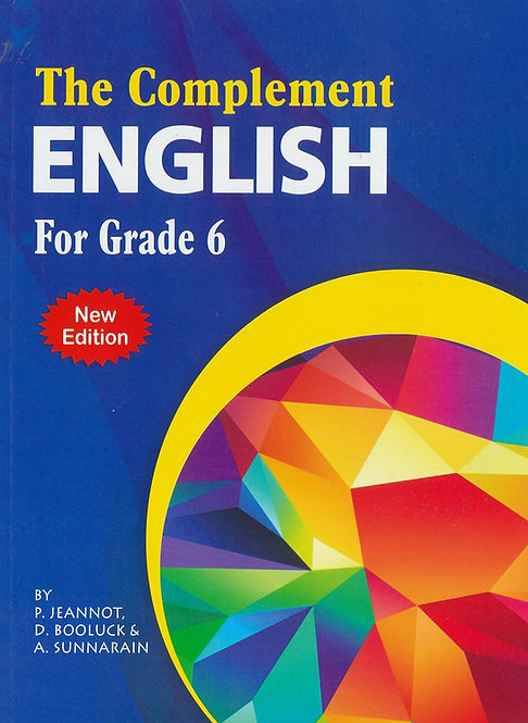 The Complement English Grade 6