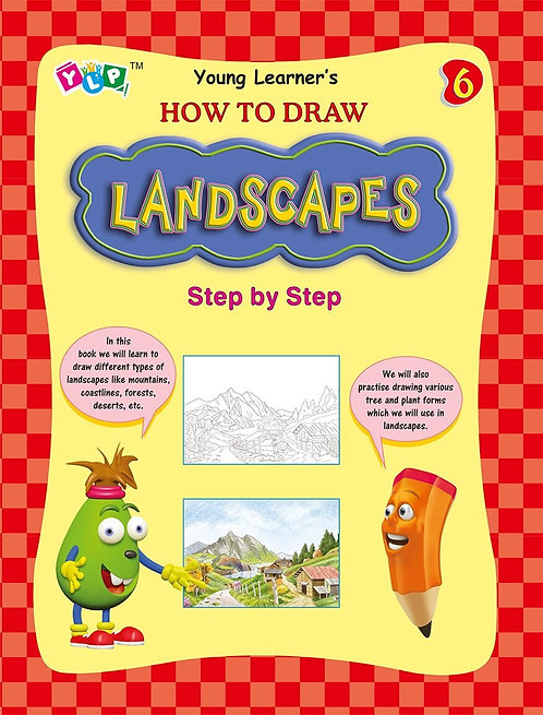 How to draw Landscapes Step by Step