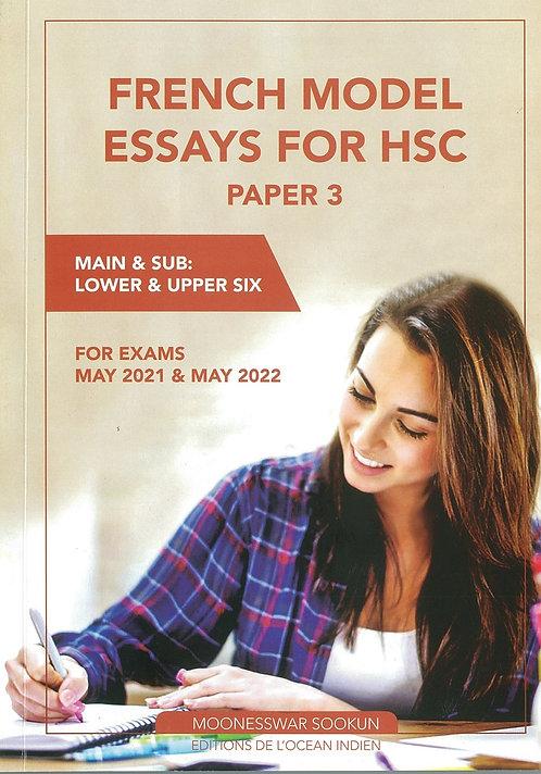 French Model Essays for HSC Paper 3 - M.Sookun