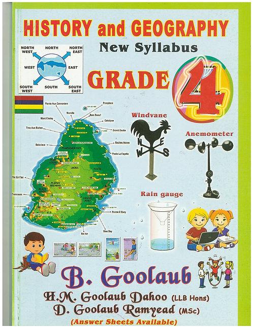 History & Geography Grade 4 - B. Goolaub