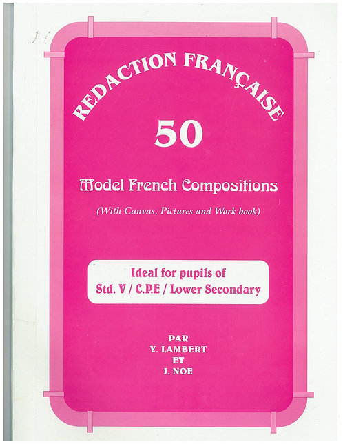 Model French Compositions ( With Canvas , Pictures &Workbook ) - Y.Lambert