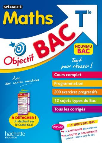 Objectif BAC Specialite Maths T le