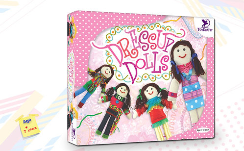Toy Kraft - DressUp Dolls