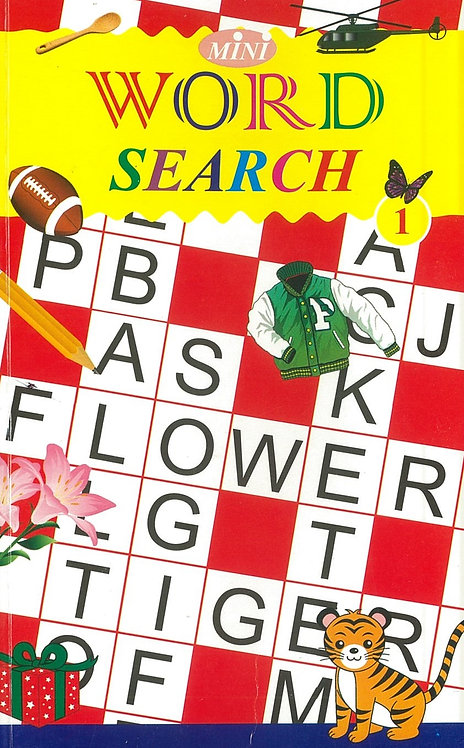 Mini - Word Search 1 - 12