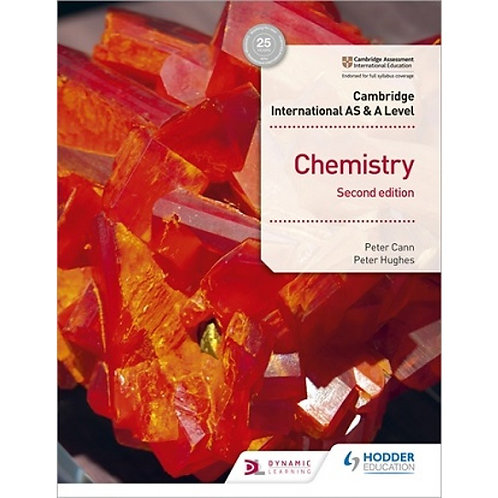Hodder - AS & A Level Chemistry 2nd Edition - Peter Cann / Peter Hughes
