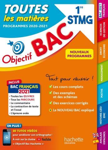 Objectif BAC Toutes Les Matieres - 1re STMG