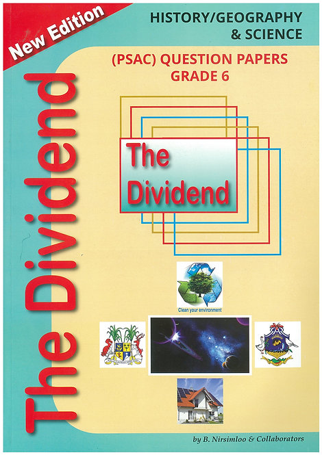 The Dividend Science / History & Geography Grade 6 - Nirsimloo