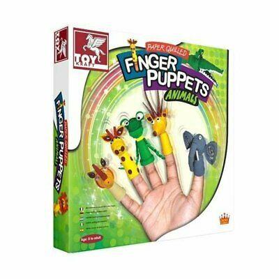 Toy Kraft - Finger Puppets Animals