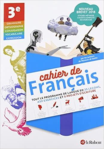 Cahier de Français - 3e