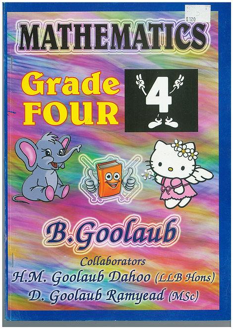 Mathematics Grade 4 - B.Goolaub