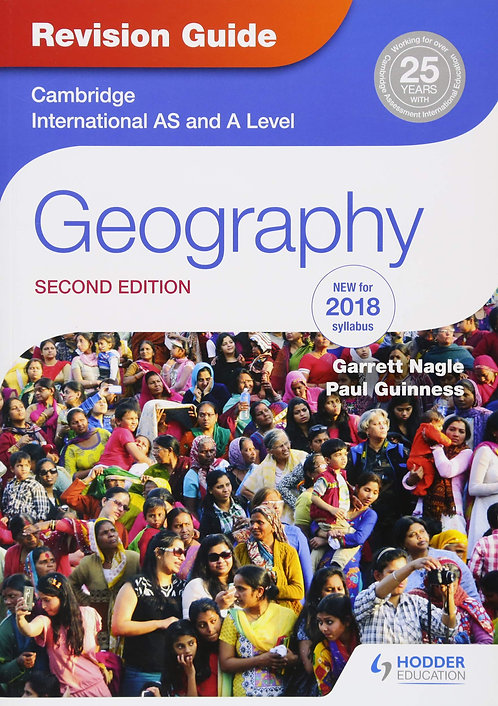 Hodder - AS & A Level Geography Revision Guide