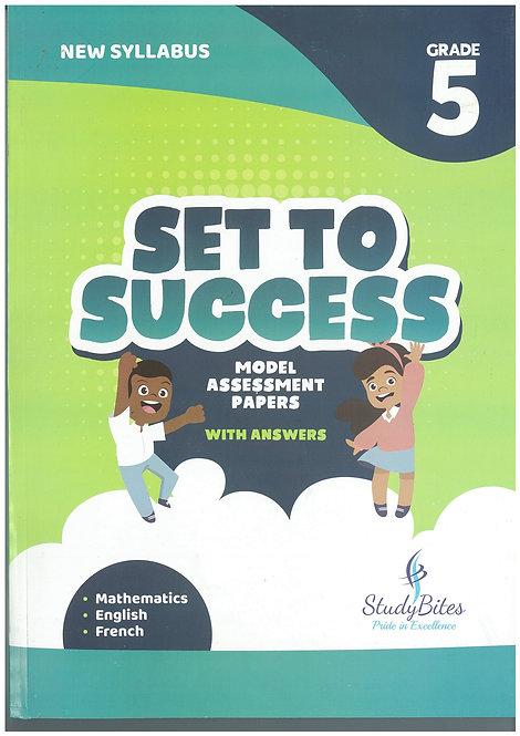 Set to Success Grade 5 - Mathematics /English/ French