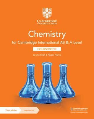 CUP - AS & A Level Chemistry with 2 years Digital Access 3rd Edition - R.Norris