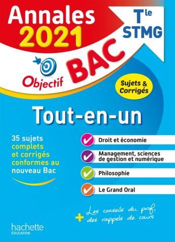 Objectif BAC Annales 2021 Tout en un T le STMG