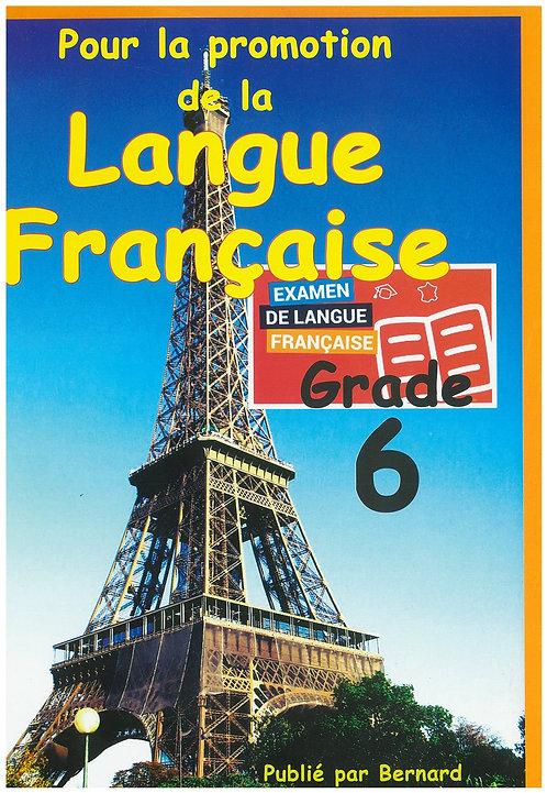 Pour la promotion de la Langue Francaise - Bernard