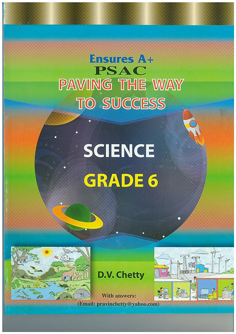 Paving the Way to Success Science Grade 6 - Chetty