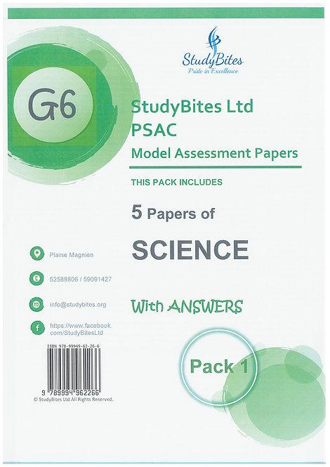 StudyBites - PSAC Science Pack 1