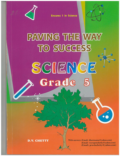 Paving the Way to Success Science Grade 5 - Chetty
