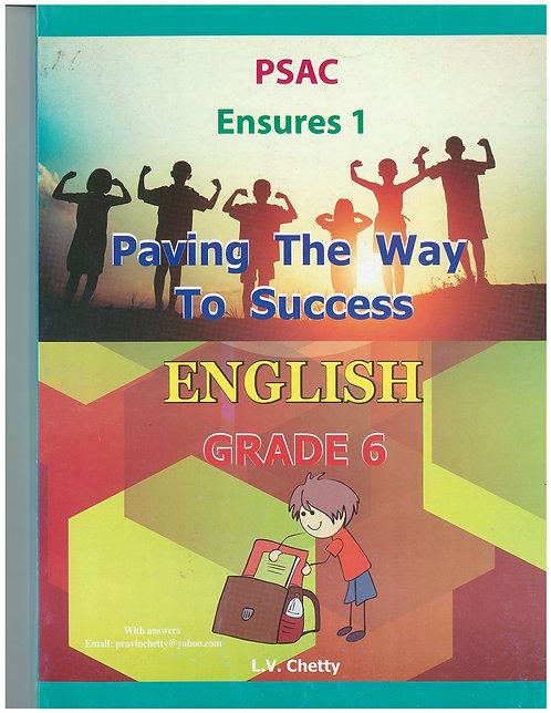 Paving the Way to Success English Grade 6 - Chetty