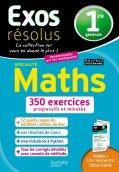 Exos Resolus Specialite Maths 1 re Generale
