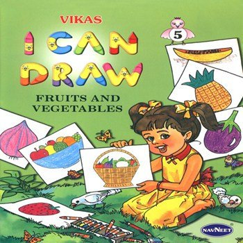 I Can Draw - Fruits and Vegetables