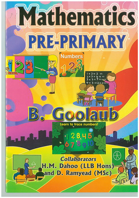 Mathematics Pre-Primary - B.Goolaub