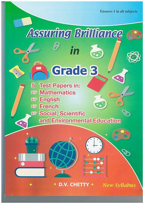 Assuring brillance in Grade 3 - Chetty