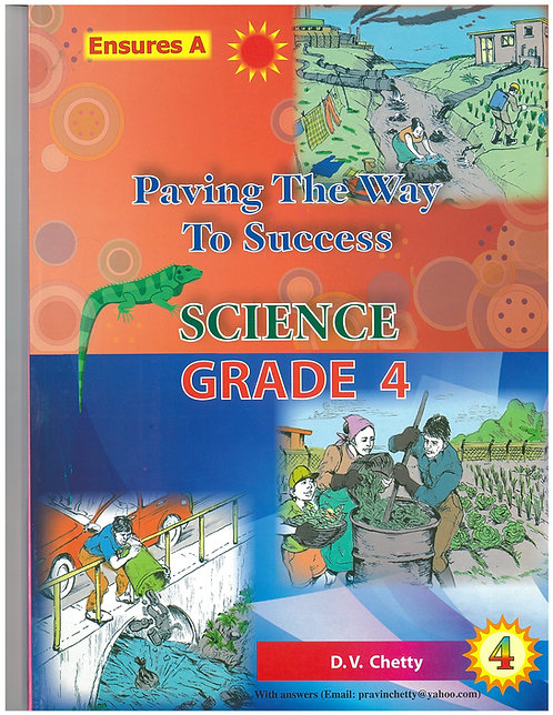 Paving the way to Success Science Grade 4