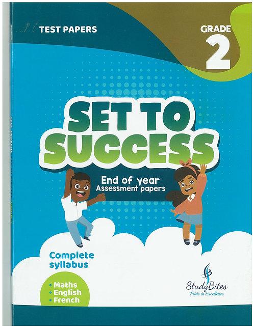 Set to Success Grade 2 - Maths/English/French