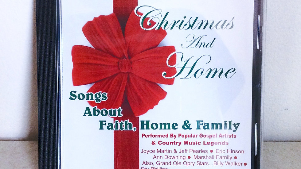 Christmas and Home CD