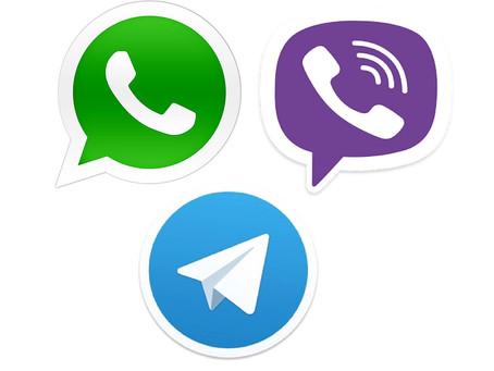 Теперь мы есть в Whatsapp, Viber и iMessage!